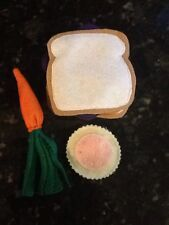 FELT PEANUT BUTTER AND JELLY SANDWICH  PLAY SET NEW