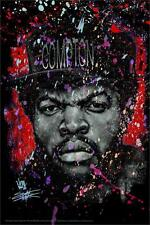 STRAIGHT OUTTA - ICE CUBE - FISHWICK ART POSTER - 24 x 36 RAP MUSIC 9761
