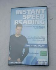 Instant Speed Reading DVD Guinness Record Holder Dave Farrow Wizardtech