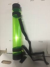 "18"" Short Poster Tube (Green) with Carry on Strap, FREE SHIPPING"