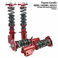 20 Step Adjust Coilover Shock Strut Suspension Toyota Corolla AE90 AE100 AE111