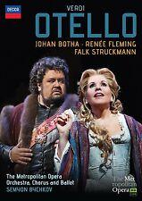 RENEE FLEMING - OTELLO  DVD NEU VERDI,GUISEPPE