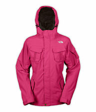 The North Face Decagon Ladies Snowboard Ski Jacket Coat Womens Large Pink Winter