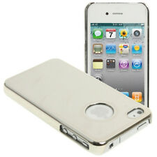 Silver Chrome Style case cover for iPhone 4 4s