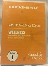 Flexi-Bar Master Class Group EXercise Wellness Edition 1 Goodlife Fitness DVD