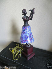 Art Deco Style FIGURAL WOMAN Night   LAMP or Decor  Lamp