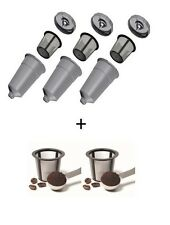 3 My K-Cup Style Reusable Filters for Keurig PLUS 2 FREE EXTRA Baskets!