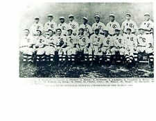 1908 CHAMPIONS CHICAGO CUBS  8X10 TEAM PHOTO TINKER EVERS CHANCE STEINFELDT HOF