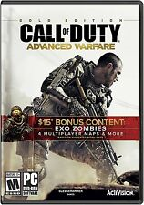 Call of Duty: Advanced Warfare Gold Edition (PC Games) - NEW - FREE SHIPPING