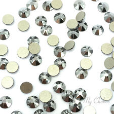 144 Swarovski 2058 5ss Flatback nail art 1.8mm ss5 CRYSTAL LIGHT CHROME 001 LTCH