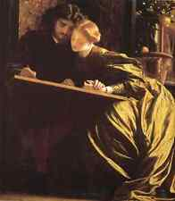 Metal Sign Leighton The Painter S Honeymoon A4 12x8 Aluminium
