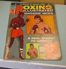 May 1967 Boxing Illustrated Magazine Cassius Clay Barney Ross Joe Frazier Photos