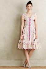 Anthropologie Versailles Lace Dress By Moulinette Soeurs Sizes 6