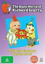 The Busy World of Richard Scarry: The Best Birthday Vol 2 DVD NEW