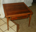 Mid Century Lane Walnut and Ash Dovetailed End Table / Coffee Table (CT66)