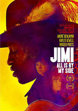 Jimi  : All Is By My Side Dvd * Rare * Great Bio & Great Music * Fast Ship