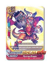 Buddyfight x 4 Fly-trap Dragon [H-BT03/0050EN U] English Mint Future Card