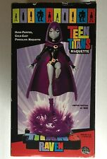 Teen Titans Maquette Raven Limited Edition Figure 64/800 - Has Damage