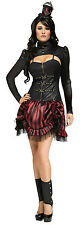 Fun World Women's Gothic Steampunk Sally Victorian Adult Costume Size S/M 2-8