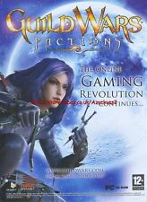 "Guild Wars Factions ""Gaming Revolution Continues"" 2006 Magazine Advert #4684"