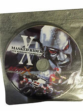 Kamen Masked Rider X: Five Warrior VS Dark King DVD (*DISC-ONLY* *NO-DVD-CASE*)