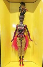 Tano Barbie Doll Byron Lars Designer Gold Label MIMB Shipper