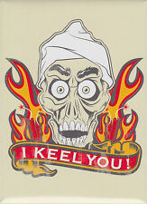 Jeff Dunham ~ Achmed I Keel You Flames Magnet ~ Officially Licensed