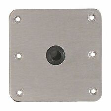 "Attwood Swivl-Eze Lock'N-Pin Base 7""x7"" Stainless Steel Plate SP-67739 Marine MD"