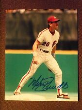 Phillies star Mike Schmidt autographed 8x10 photo picture 500 Home Run Club COA