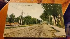 North Main Street 1903 Old Town Maine Postcard  Unposted