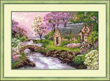 RIOLIS COUNTED CROSS STITCH KIT - THE SPRING VIEW - R1098 - 38*26 cm