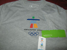 Vancouver 2010 Olympic T- Shirt  (NWT) XS / TP All Fans