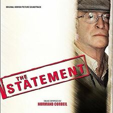 Original Motion Picture Soundtrack, THE STATEMENT, New Music Cd OST, Free Ship
