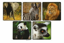 15 Wild Animal Stickers Kid Safari Jungle Zoo Party Goody Loot Bag Favors Supply