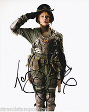 """Tamzin Outhwaite Colour 10""""x 8"""" Signed 'Dr Who' Photo - UACC RD223"""