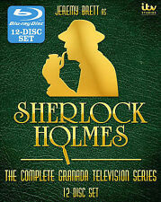 Sherlock Holmes - Blu Ray Complete Granada Television Series 12-Disc New 2014