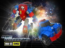 TRANSFORMERS IGEAR MINI WARRIORS MW-05 COGZ MIB G1 GEARS MASTERPIECE SCALE