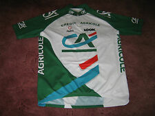 CREDIT AGRICOLE LOOK NALINI ITALIAN VINTAGE CYCLING JERSEY [7]