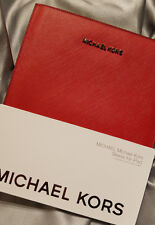 Michael Kors Ipad Tablet Sleeve Red SAFFIANO Case SmartCover Compatible FREE S&H