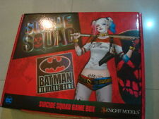 KNIGHT MODELS SUICIDE SQUAD GAME BOX WITH BATMAN METAL NEW