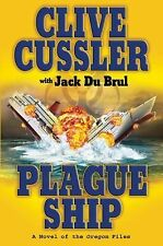 CLIVE CUSSLER PLAGUE SHIP HARDVBACK NOVEL LIKE NEW