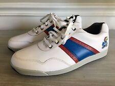 FootJoy Myjoys Mint Contour Casual Spikeless Golf Shoes Kansas Jayhawks 9 KU Men