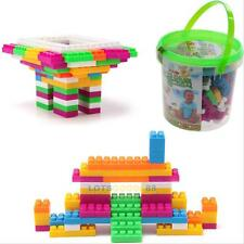 104pcs Plastic Building Blocks Bricks Children Kids Puzzle Educational Toy Gift