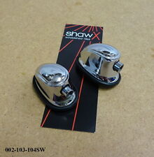 SHAW Snare Drum / Tom Tom Tension Lug / Bracket (Chrome) (PAIR) 002-103-104SW