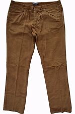 DOLCE & GABBANA D&G BROWN COTTON CORDS CHINO PANTS - W34 / L34 - MADE IN ITALY