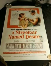 Streetcar Named Desire Movie Poster Reproduction Single Sided Re-issue