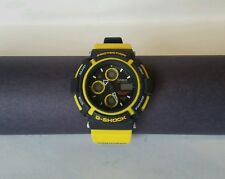 Super Rare Casio G shock Mudman AW570 Yellow Band Watch From Japan Mint