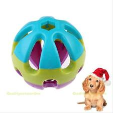New ABS Plastic Jingle Bell Ball Toy for Cat Dog Puppy Chew Fetch Pet Toys