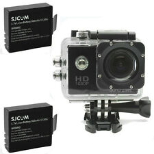 SJCAM SJ4000 12MP HD 1080P Car Cam Sports DV Action Waterproof Camera 2x Battery