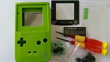 CARCASA COMPLETA+PANTALLA COMPATIBLE GAME BOY COLOR MARIO SOFT GREEN NEW/NUEVO